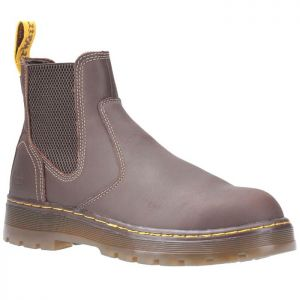 Dr Martens Eaves Elasticated Safety Boots - Brown