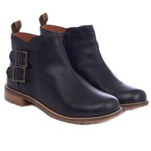 Barbour Women's Sarah Low Buckle Boot - Black