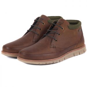 Barbour Nelson Chukka Boots - Chocolate