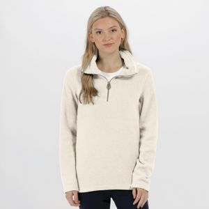 Regatta Ladies Solenne Half Zip Fleece - Light Vanilla