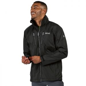 Regatta Men's Calderdale III Waterproof Jacket - Black