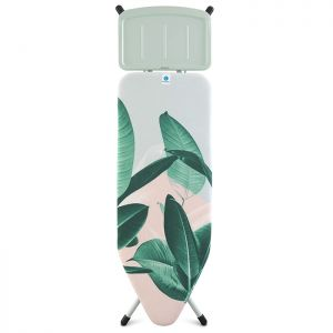 Brabantia 'C' Ironing Board with Steam Unit Holder - Tropical Leaves