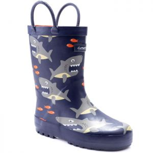 Cotswold Puddle Childrens Wellingtons - Shark