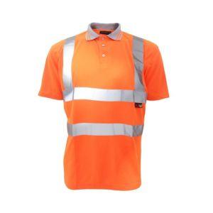 Warrior Hi-Vis Polo Shirt - Orange