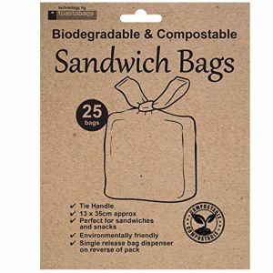 Eco-Friendly Compostable Sandwich Bags - Pack of 25