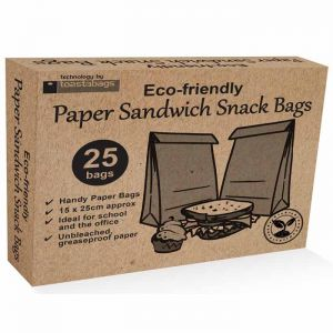 Eco-Friendly Sandwich Bags - Pack of 25