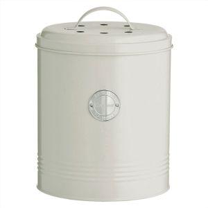 Typhoon Living Compost Bin – Cream