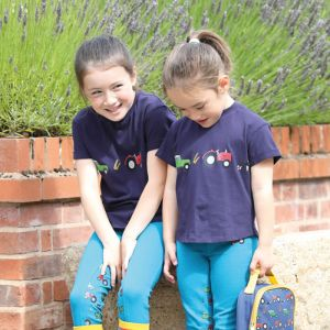 Shires Children's Tikaboo T-Shirt - Farm