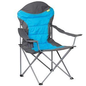 Kampa High Back Camping Chair, Blue - XL