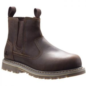 Amblers AS101 Safety Women's Alice Dealer Boots - Brown