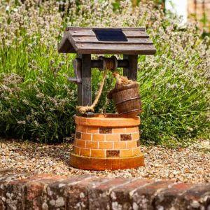 Smart Solar Wishing Well Fountain
