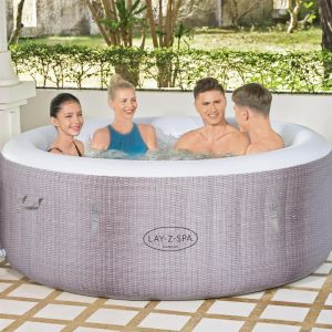 Lay-Z-Spa Cancun AirJet Inflatable Hot Tub, 2-4 Person - 2021