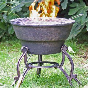 Gardeco Safir Cast Iron Firepit