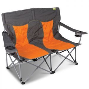 Kampa Lofa Double Camping Chair - Orange
