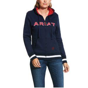Ariat Full Zip Hoody - Navy