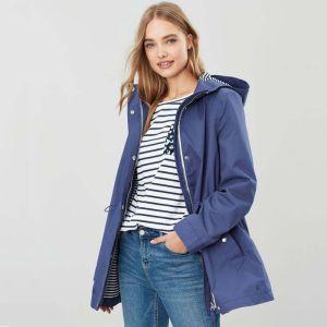 Joules Shoreside Waterproof Coat - Blue