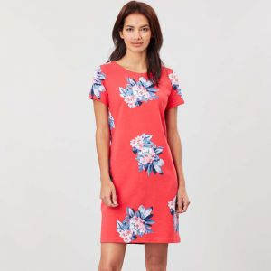 Joules Riviera Dress - Floral Red