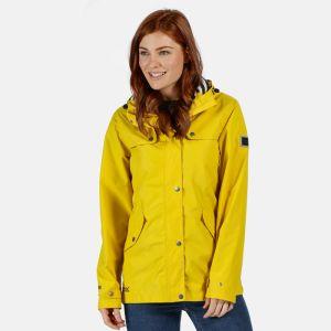 Regatta Ladies Bertille Waterproof Jacket - Yellow