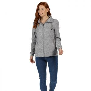 Regatta Ladies Evanna Zipped Fleece - Rock Grey