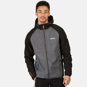 Regatta Men's Arec II Softshell Jacket - Magnet Grey