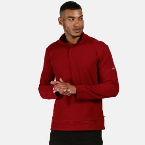 Regatta Men's Theon Buttoned Fleece - Delhi Red