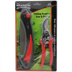 Wilkinson Sword 1111295WG Folding Pruner and Saw Set