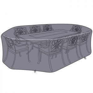 Hartman Amalfi 8 Seater Rectangular Dining Set Protective Cover