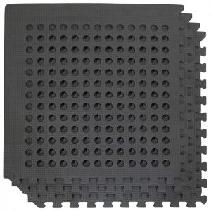Wild Camping Interlocking Floor Mats with Holes - 4 Pack