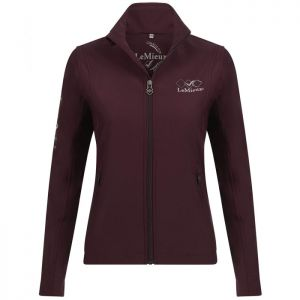 Le Mieux Team Soft Shell Jacket - Burgundy
