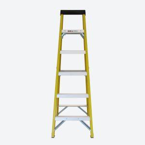 Six Tread Fibreglass Step Ladder