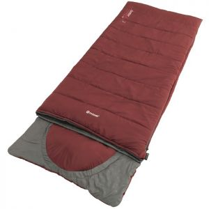 Outwell Contour Lux Sleeping Bag - Red