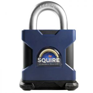 Squire SS65S Stronghold Open Shackle Padlock - 65mm