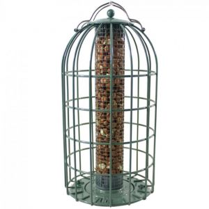 The Nuttery Original Squirrel Proof Nut Feeder - Ocean Green
