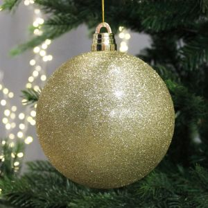 15cm Giant Bauble – Gold