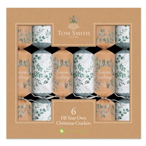 Tom Smith Eco Friendly Fill Your Own Crackers – Pack of 6