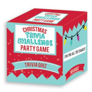 Christmas Trivia Challenge Party Game