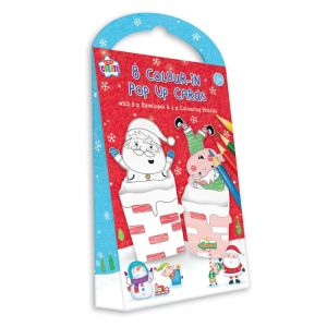 Colour-in Pop Up Cards – Pack of 8