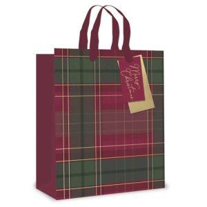 Tartan Gift Bag - Large