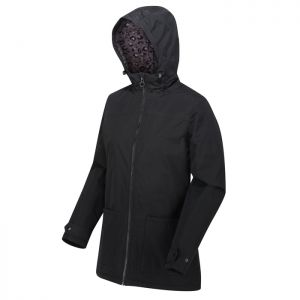 Regatta Women's Bergonia II Waterproof Hooded Jacket – Black
