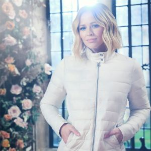 Kimberley Walsh X Regatta Women's Karenna Quilted Jacket – Light Vanilla / Silver