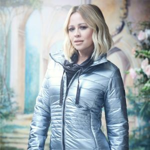 Kimberley Walsh X Regatta Women's Lustel Quilted Jacket – Pewter Metallic