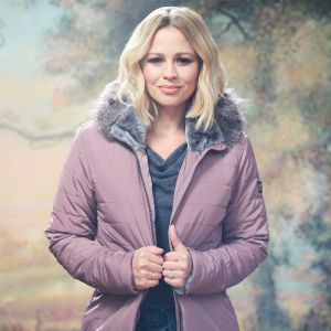 Kimberley Walsh X Regatta Women's Westlynn Hooded Jacket – Dusky Heather