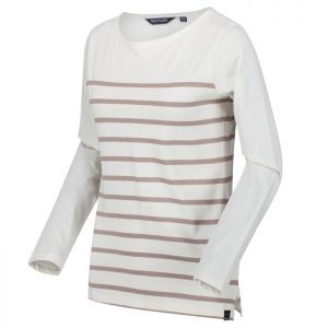 Kimberley Walsh X Regatta Women's Ferelith Long Sleeved T-shirt – Light Vanilla