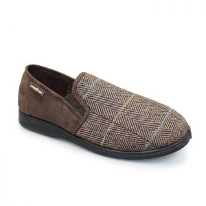 Goodyear Men's Harrison Slippers – Brown
