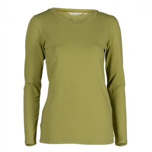 Lily & Me Women's Layering Tee – Winter Lime