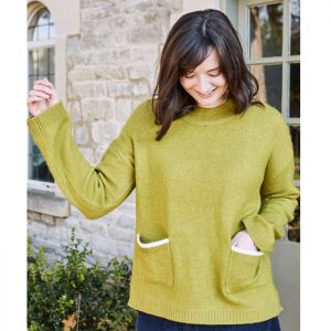 Lily & Me Women's Hygge Jumper – Winter Lime