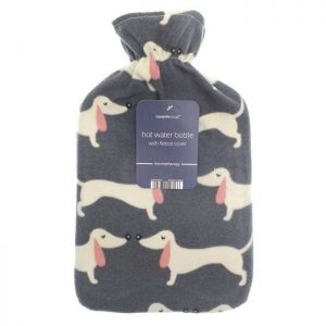 Country Club Fleece Hot Water Bottle – Dogs