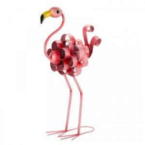 Florence the Flamingo Garden Ornament