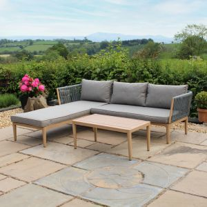 Wild Garden Pascal 3 Seater Lounge Sofa Set