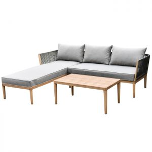 Wild Garden Pascal 3 Seater Lounge Sofa Set